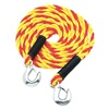 Highland 9161500 Tow Rope, 5/8 In x 15 Ft., Yellow/Orange