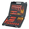 Knipex 98 99 14 Insulated Tool Set, Universal, 48 Pc
