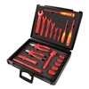 Knipex 9K 00 80 04 US Insulated Tool Set, Safety, 19 Pc