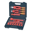 Knipex 98 99 11 Insulated Tool Set, Electrical, 17 Pc