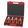 Knipex 00 20 15 Insulated Tool Set, Basic, 4 Pc