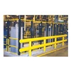 Approved Vendor SGR204842P Guard Rail System, 48 In., 42 In., Yellow
