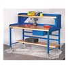 Built-Rite 5C203060 BLUE Portable Shop Top Workbench, 60x30, Blue
