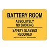 Brady 125590 Chemical Sign, Plastic, 7 x 10 in, Blk/Ylw