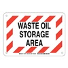 Brady 125791 Chemical Sign, Plastic, 7 x 10, Blk/Red/Wht