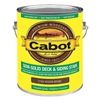 Cabot 140.0017434.007 Stain, Mission Brown, Semi-Solid Flat, 1gal