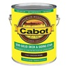 Cabot 140.0017437.007 Stain, Cordovan Brown, SemiSolid Flat, 1gal