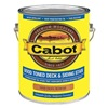 Cabot 140.0019205.007 Stain, Pacific Redwood, Toned Flat, 1 gal.