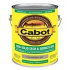 Cabot 140.0017444.007 Stain, Driftwood Gry, Semi-Solid Flat, 1gal