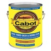 Cabot 140.0019202.007 Exterior Stain, Cedar, Toned Flat, 1 gal.