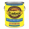 Cabot 140.0019200.007 Exterior Stain, Natural, Toned Flat, 1 gal.