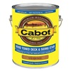 Cabot 140.0019204.007 Exterior Stain, Heartwood, Toned Flat, 1gal