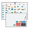 Magna Visual EBK-2436 Magnetic Planning/Schedule Kit, 36x24