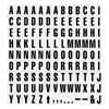 Magna Visual PFA-21 Magnetic Heading Letters, PK 120