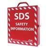 Zing 6046 GHS-SDS Procedure Station, Metal Cabinet