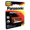 Panasonic CR123A Battery, Lithium, CR123A, 3V