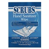 Scrubs 90901 Hand Sanitizer Wipes, 6 x 8 In, PK 100