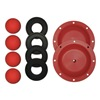 Sandpiper 476.166.354 Repair Kit, Santoprene, Fluid, 3/4 In Pump