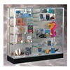 Waddell Display 2606-PB-SN Display Case, 40x72x20, Satin