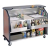 Lakeside 886 Portable Bar, 63-1/2x45x27-1/2 In