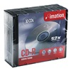 Imation IMN17332 CD-R Disc, 700 MB, 80 min, 52x, PK 10