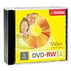 Imation IMN17345 DVD-RW Disc, 4.70 GB, 120 min, 4x, PK 5