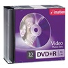 Imation IMN17616 DVD+R Disc, 4.70 GB, 120 min, 16x, PK 10