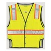 Ml Kishigo T341-4X-5X Fall Protection Vest, 4XL/5XL, Lime
