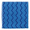 Rubbermaid FGQ62000BL00 Microfiber Cloth, Blue, 16 x 16 In