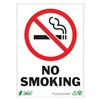 Zing 1085A No Smoking Sign, 7 x 10In, R and BK/WHT