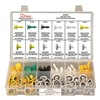 Disco 8116 GM Door Panel Retainer Assortment, 120 Pc