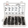 Disco 8140 Wire Routing Clip Asst, 54 Pc