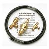 Conrader WV-1-KIT Auto Drain Valve Kit, Pneumatic, Brass