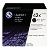 Hewlett Packard HEWQ5942XD Toner, HP, LJ 4250, 4350, Blk, PK 2