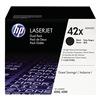 Hewlett Packard HEWQ5942XD Toner, HP, LJ 4250, 4350, Blk, PK 2