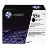 Hewlett Packard HEWCE255X Toner, HP, LJ P3015, Blk