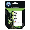 Hewlett Packard HEWC9353FN140 Ink Cart, HP, Combo Pack, Black, Tricolor
