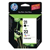 Hewlett Packard HEWC9509FN140 Ink Cart, HP, Desk, Fax, Office, Blk, Tricolor