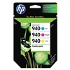 Hewlett Packard HEWCN065FN Ink Cart, HP, Officejet, 8000, 8500, Tricolor