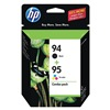 Hewlett Packard HEWC9354FN140 Ink Cart, HP, Combo Pack, Photo, Blk, Tricol