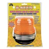 Wolo 3050-A Warning Light, LED, Ambr, Mag, Fresnel, 5 Dia