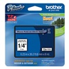 Brother TZe111 Label Tape, 26-1/5 ft. L, Black/Clear