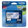Brother TZe161 Label Tape, Black/Clear, 26-1/5 ft. L