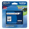 Brother TZe221 Label Tape, 26-1/5 ft. L, Black/White
