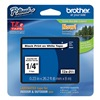 Brother TZe211 Label Tape, 26-1/5 ft. L, Black/White