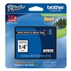 Brother TZe315 Label Tape, 26-1/5 ft. L, Black/White