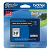 Brother TZe325 Label Tape, 26-1/5 ft. L, Indoor/Outdoor