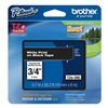 Brother TZe345 Label Tape, Black/White, 26-1/5 ft. L