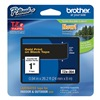 Brother TZe354 Label Tape, Black/Gold, 26-1/5 ft. L
