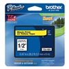 Brother TZe631 Label Tape, Black/Yellow, 26-1/5 ft. L